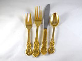 Gold Teaspoon
