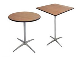 "Cocktail Tables (High-Boys) 36"" Round"