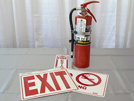 Fire Package/Exit Lighting