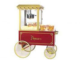 Popcorn Cart 4 Wheel
